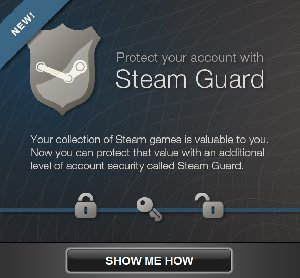 Система защиты Steam Guard